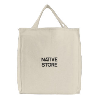 NATIVE STORE EMBROIDERED BAGS