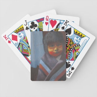 Native Stripes Bicycle Playing Cards