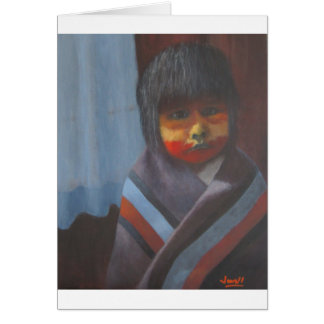 Native Stripes Card