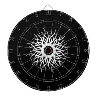 Native Sun Design Black Dart Board Set