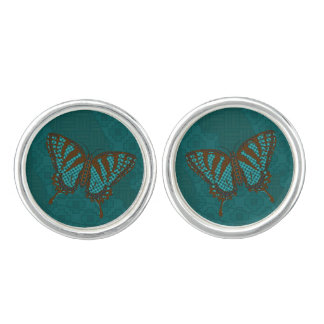 Native Swallowtail Cufflinks