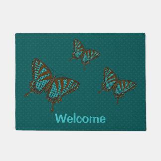 Native Swallowtail Doormat