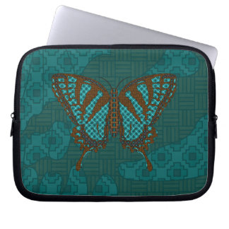 Native Swallowtail Laptop Case Computer Sleeve