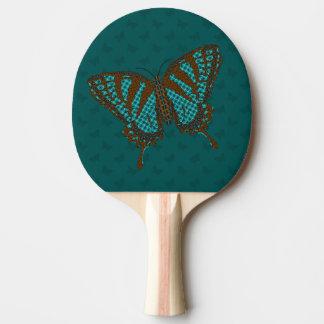 Native Swallowtail Ping Pong Paddle