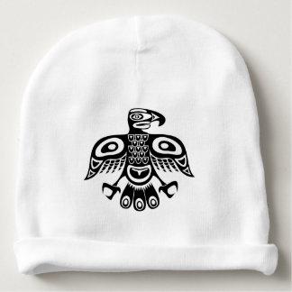 Native totem bird baby beanie