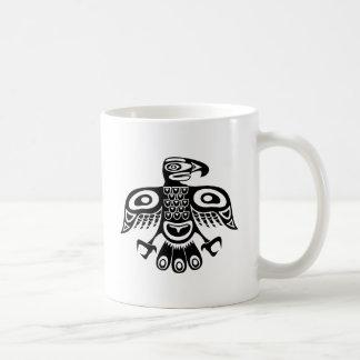 Native totem bird coffee mug