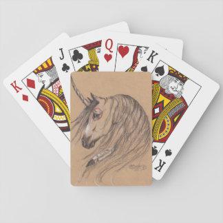 Native Unicorn Playing Cards