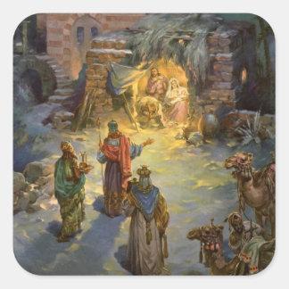 Nativité vintage de Noël