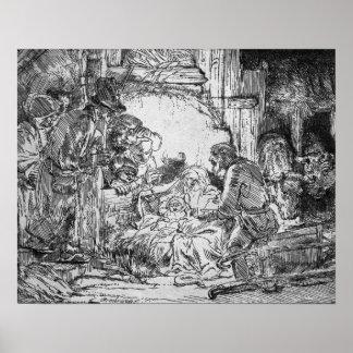 Nativity, 1654 print