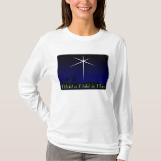 Nativity A Child Is Born T-Shirt