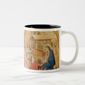Nativity and the Adoration of the Magi Two-Tone Coffee Mug