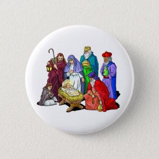 Nativity_Button 2 Inch Round Button
