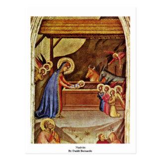 Nativity By Daddi Bernardo Postcard