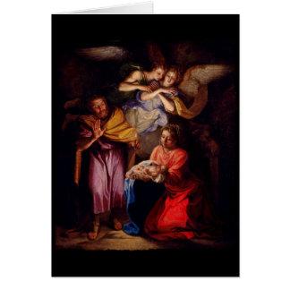 Nativity by Noel Coypel Card