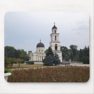 Nativity Cathedral in Chisinau, Moldova Mouse Pad