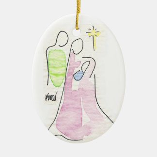 Nativity Christmas Ornament #2
