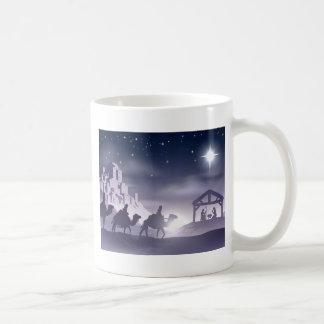 Nativity Christmas Scene Mugs