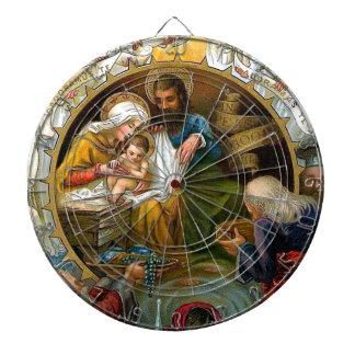 Nativity Dartboard
