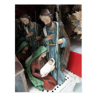 Nativity Decoration Postcard