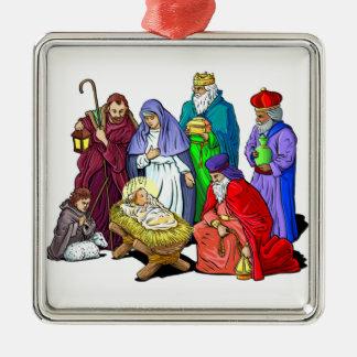 Nativity Decorative Christmas Ornament