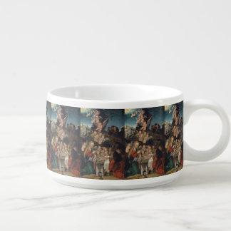 Nativity Featuring Cherubs Bowl