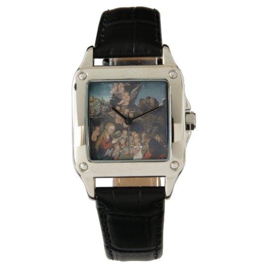 Nativity Featuring Cherubs Wristwatches