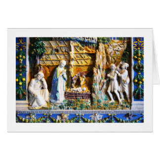 Nativity in Russia Greeting Card