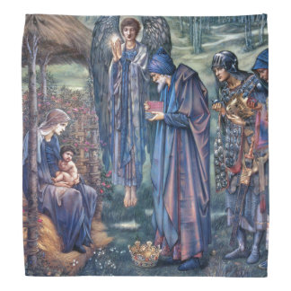 Nativity Jesus Three Kings Gifts Burne Bandana