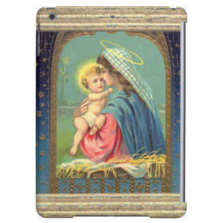 Nativity Mary Holding The Baby Jesus iPad Air Cases
