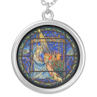 Nativity necklace