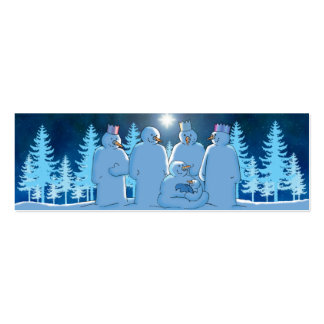 Nativity Note or Gift Pack Of Skinny Business Cards