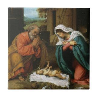 Nativity of Christ Tile