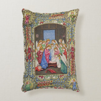 Nativity of Our Lord Accent Pillow