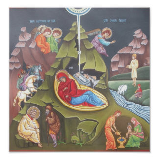 Nativity of Our Lord Poster