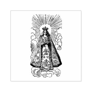 Nativity of the Blessed Virgin Mary Rubber Stamp