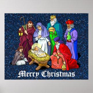 nativity poster large