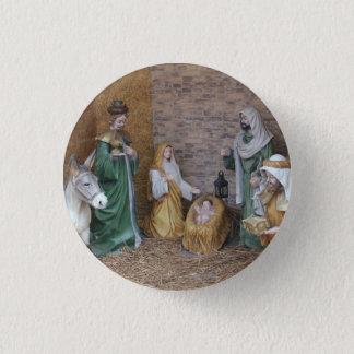 Nativity Scene 1 Inch Round Button