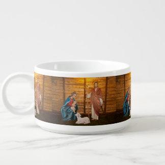 Nativity scene bowl