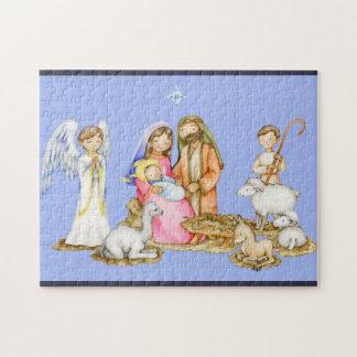 Nativity Scene Christmas Puzzle