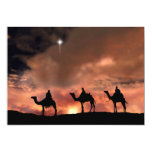 "Nativity Scene Gifts for Christmas 5"" X 7"" Invitation Card"