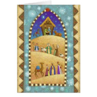 Nativity Scene Holiday Card