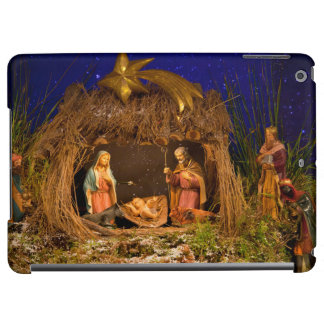 Nativity scene iPad air cases