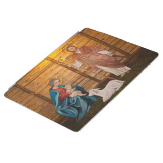 Nativity scene iPad cover