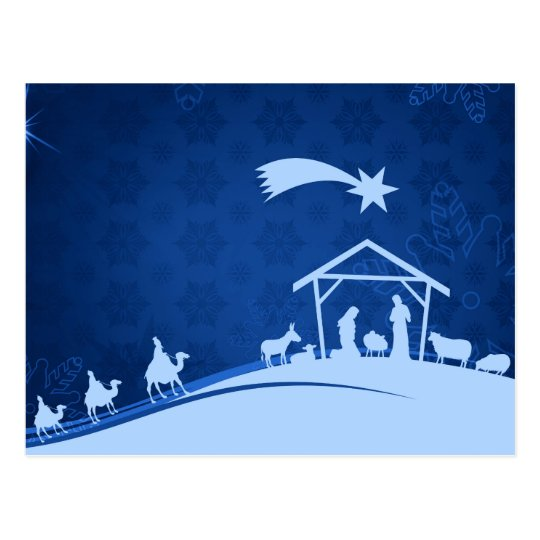 Nativity Scene Postcards