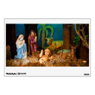 Nativity scene wall sticker