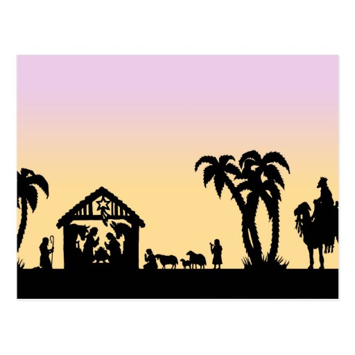 Nativity Silhouette Wise Men Nativity silhouette wise men on the ...