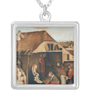 Nativity Silver Plated Necklace