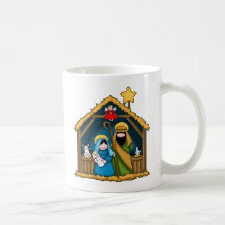 Nativity Stable Scene Coffee Mug