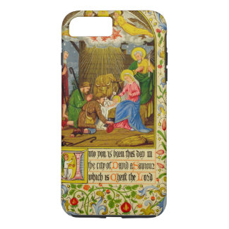 Nativity | Unto you is born this day iPhone 8 Plus/7 Plus Case