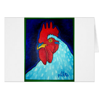 Natley's Rooster by Piliero Card